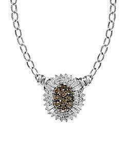 Effy® 0.80 Ct. T.W. Diamond Pendant In 14K White Gold