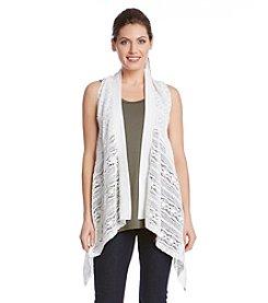 Karen Kane® Multi Lace Vest