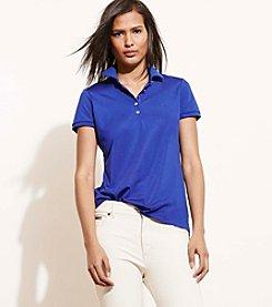 Lauren Active® Monogram Polo Shirt