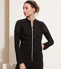 Lauren Active® Quilted Stretch Cotton Jacket