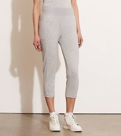 Lauren Active® French Terry Capri Pants