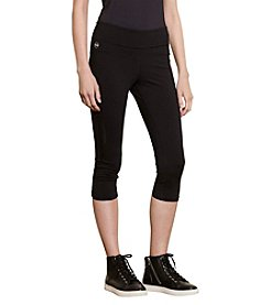 Lauren Active® Cropped Jersey Leggings