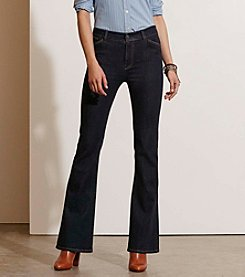 Lauren Jeans Co.® High-Rise Flared Jeans