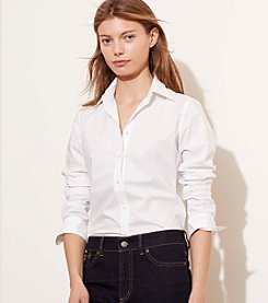 Lauren Jeans Co.® Stretch-Cotton Shirt