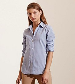 Lauren Jeans Co.® Striped Cotton Shirt