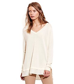 Lauren Jeans Co.® Layered Silk-Blend Sweater