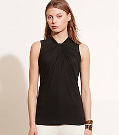 Lauren Jeans Co.® Twist-Neck Jersey Top