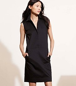Lauren Jeans Co.® Stretch Cotton Shift Dress