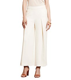 Lauren Jeans Co.® Crepe Wide-Leg Pants