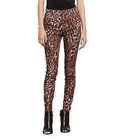 Lauren Jeans Co.® Ocelot-Print Skinny Jeans