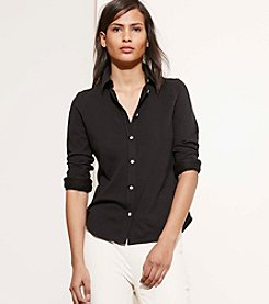 Lauren Jeans Co.® Cotton Pique Shirt