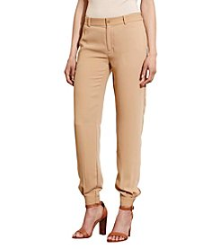Lauren Jeans Co.® Crepe Tapered-Leg Pants