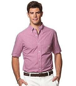 Chaps® Men's Big & Tall Short Sleeve Button Down Shirt