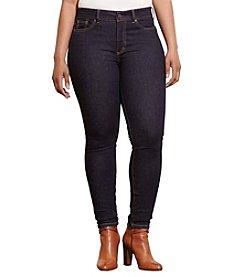 Lauren Ralph Lauren® Plus Size Premier Stretch Skinny Jeans