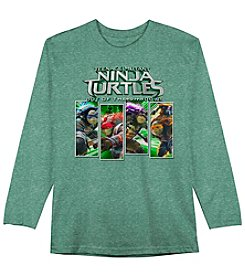 Teenage Mutant Ninja Turtles® Boys' 4-7 Long Sleeve TMNT Out Of The Shadows Tee