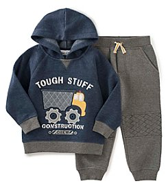 Kids Headquarters® Boys' 2T-7 2-Piece Tough Stuff Hoodie and Joggers Set
