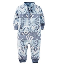 Carter's® Baby Boys Geo Fleece Jumpsuit