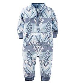 Carter's® Baby Boys Geo Fleece Jumpsuit
