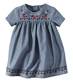 Carter's® Baby Girls' Embroidered Yoke Dress