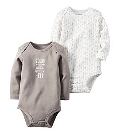 Carter's® Baby Boys 2-Pack Young Wild Free Bodysuits