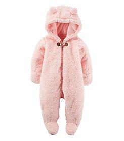 Carter's® Baby Girls' Hooded Bear Pram