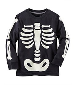 Carter's® Baby Boys Long Sleeve Skeleton Tee