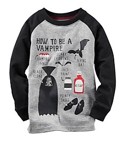 Carter's® Baby Boys Long Sleeve How To Be A Vampire Tee