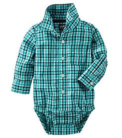 OshKosh B'Gosh® Baby Boys' Plaid Bodysuit