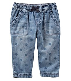 OshKosh B'Gosh® Baby Girls' Polka Dot Pull On Pants