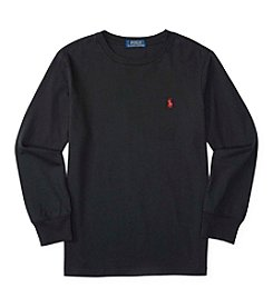 Polo Ralph Lauren® Boys' 8-20 Long Sleeve Jersey Tee