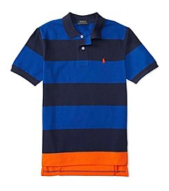 Polo Ralph Lauren® Boys' 8-20 Short Sleeve Striped Polo