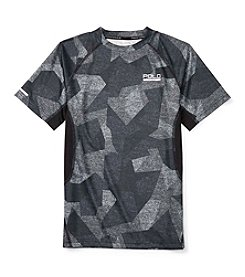 Polo Sport® Boys' 8-20 Short Sleeve Soft Touch Camo Tee