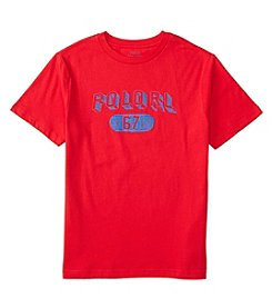 Polo Ralph Lauren® Boys' 2T-7 Short Sleeve Sketched Graphic Tee