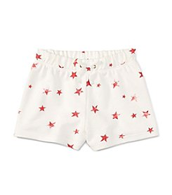 Polo Ralph Lauren® Girls' 2T-6X Star Printed Drawstring Shorts