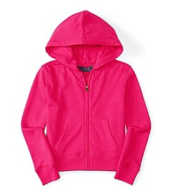 Polo Ralph Lauren® Girls' 2T-6X Terry Full Zip Hoodie