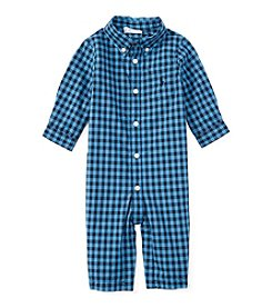 Ralph Lauren® Baby Boys Plaid Coverall