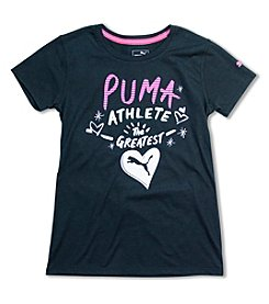 PUMA® Girls' 7-16 Short Sleeve The Greatest Tee