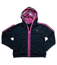 PUMA® Girls' 7-16 Long Sleeve Hoodie
