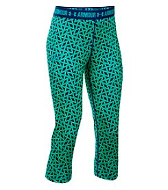 Under Armour® Girls' 7-16 Printed Armour Capri Leggings