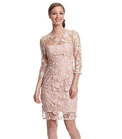 Vera Wang® Lace Sheath Dress