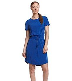 Calvin Klein Short Sleeve Shirt Dress