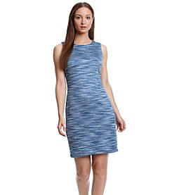 Calvin Klein Wave Sheath Dress