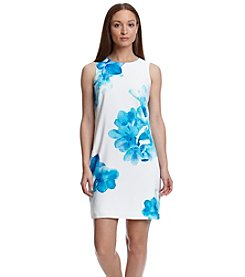 Calvin Klein Floral Chiffon Dress