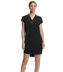Calvin Klein V-Neck Shift Dress