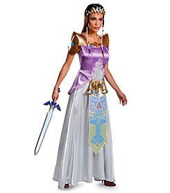 Nintendo® Legend of Zelda: Princess Zelda Deluxe Adult Costume