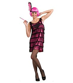 20s Pink Flapper Adult Costume