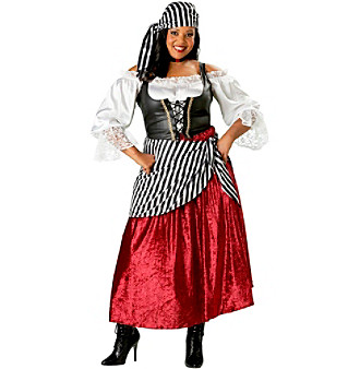 Pirate's Wench Plus Size Adult Costume plus size,  plus size fashion plus size appare