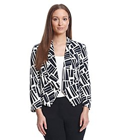 Nine West® Abstract Blazer Jacket