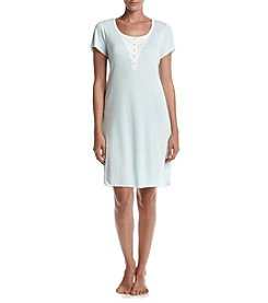 Miss Elaine® Printed Short Sleeve Nightgown