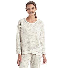 KN Karen Neuburger Live Love Lounge Printed Sweatshirt